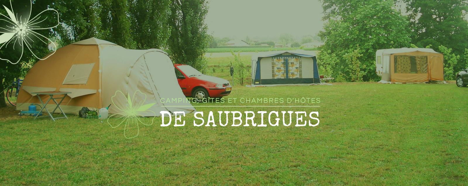 Camping camping la ferme saubrigues 40 camping - Chambre d hote saint jean de luz pas cher ...